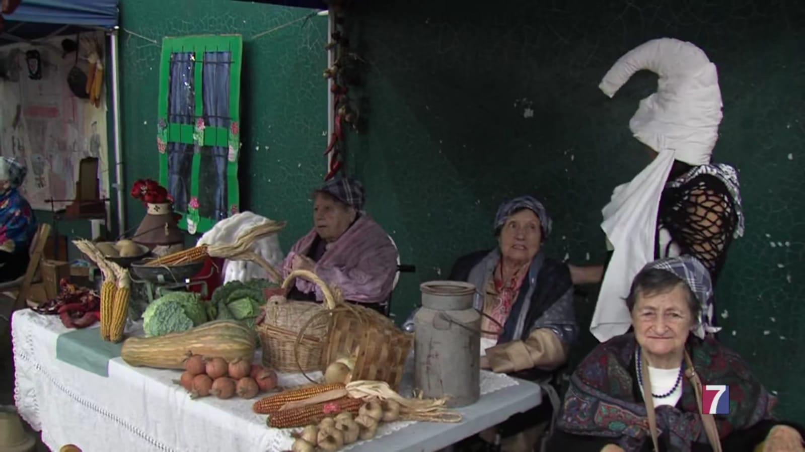 Los mayores de Muskiz, los primeros en disfrutar de las fiestas de San Juan
