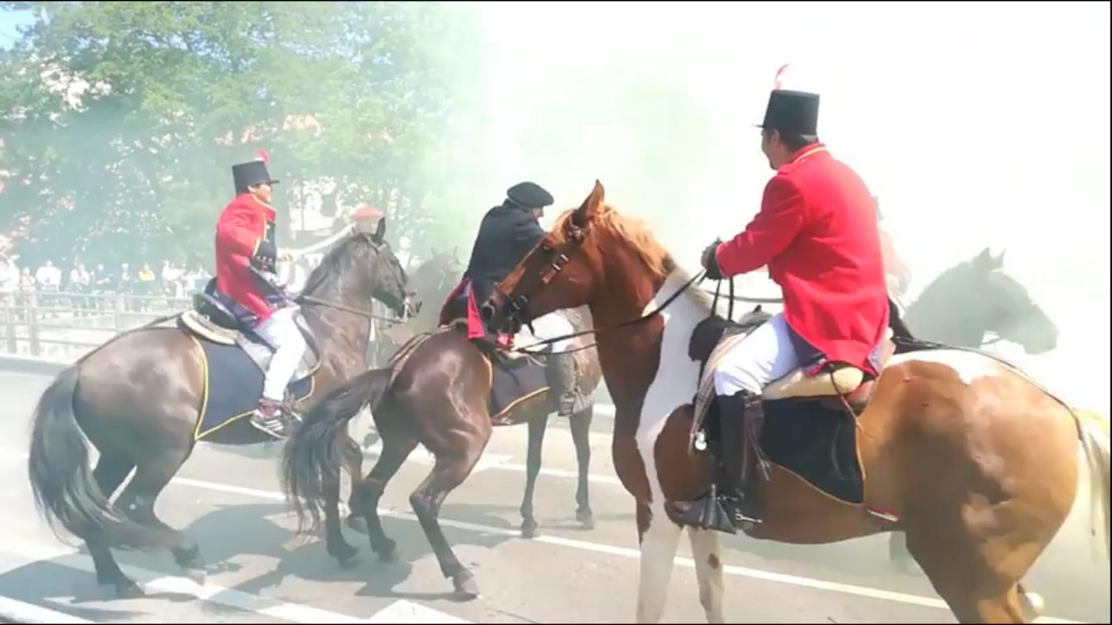 Muskiz ha revivido la batalla de Somorrostro.