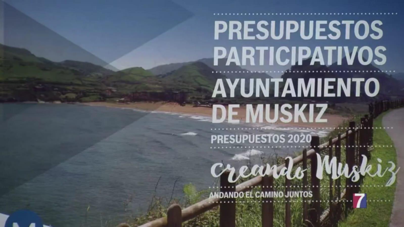 Desde hoy los muskiztarras pueden presentar sus propuestas a los presupuestos para 2020