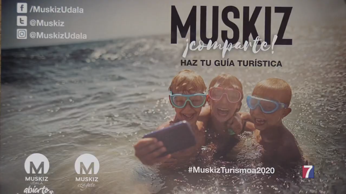 Muskiz invita a pasar el verano en el municipio y plasmarlo en foto